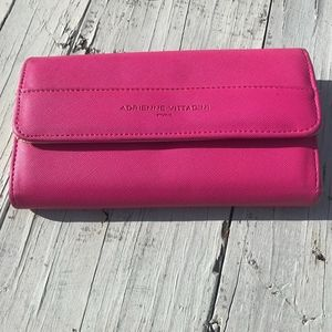Adrienne Vittadini Hot Pink Wallet